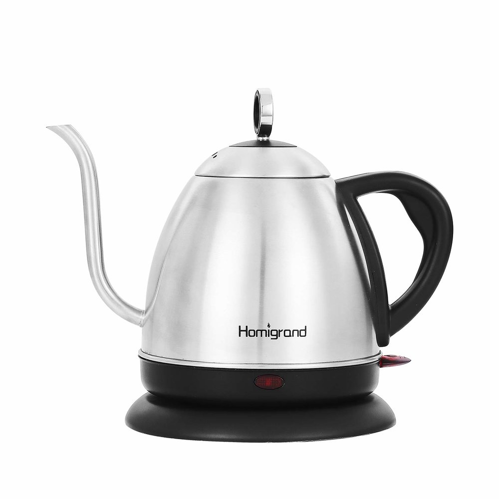 Electric Kettle - Enables all us tea snobs to get their water to just the right temperature, and it doesn't take up space on the stove top.