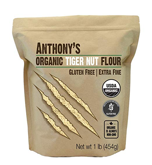 Tigernut Flour - My favorite versatile flour, which also happens to be a prebiotic and totally allergen free.
