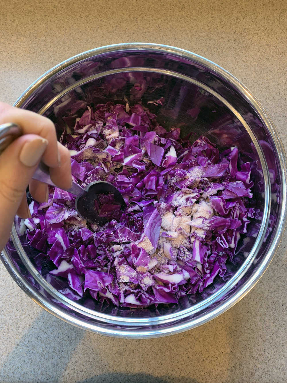 How To Make Homemade, Fermented Sauerkraut | The Gut Healing Ninja