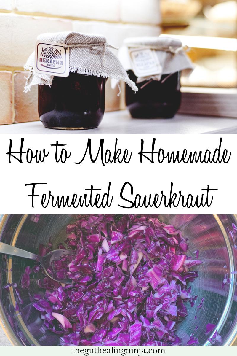 How to Make Perfect, Homemade Fermented Sauerkraut | The Gut Healing Ninja