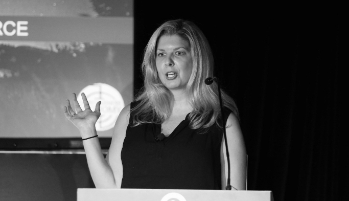 Jessica Joines Inspirational Keynote speaking at AdWeek New York 2017