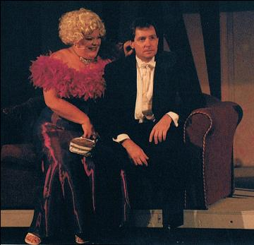 Tammy West (Norma) & Trevor Doyle (King)