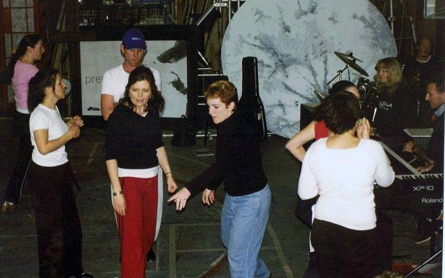 Choreographers Janadine Hart & Toni Williams