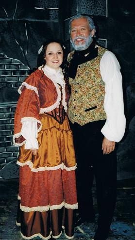 Emma (Cosette) / Rob (Jean Valjean)