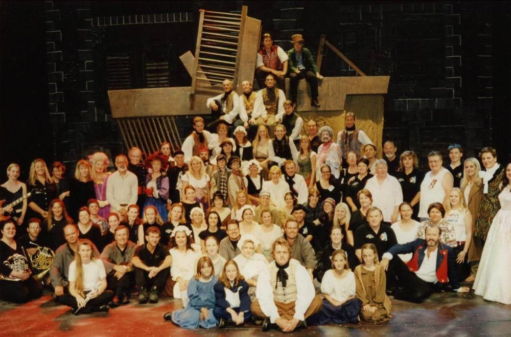 Company of  Les Miserables  2001