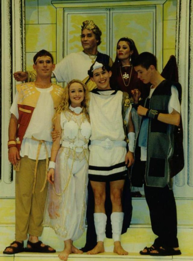 Principals of  A Funny Thing Happened on the Way to the Forum