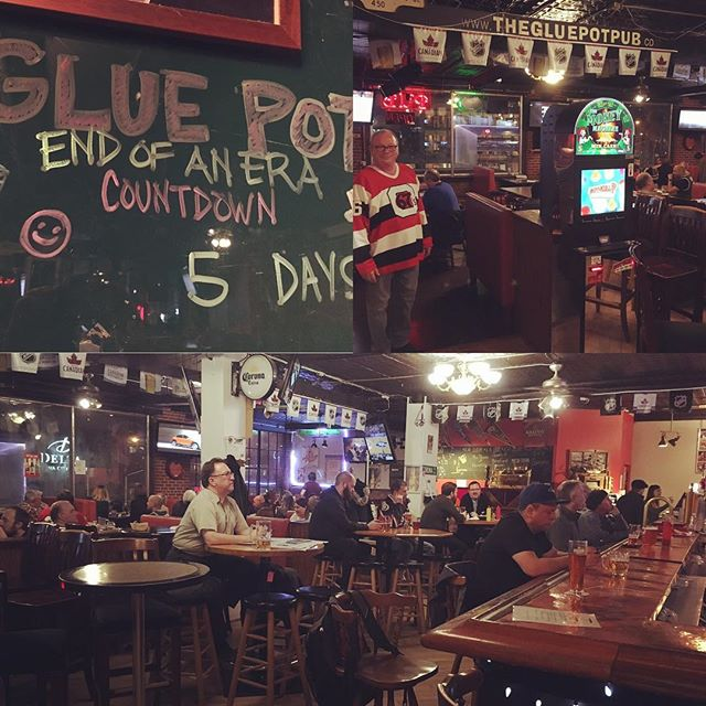 Sad to say goodbye to the Glue Pot Pub. Cheers for the good times! 🍻 #ottawa