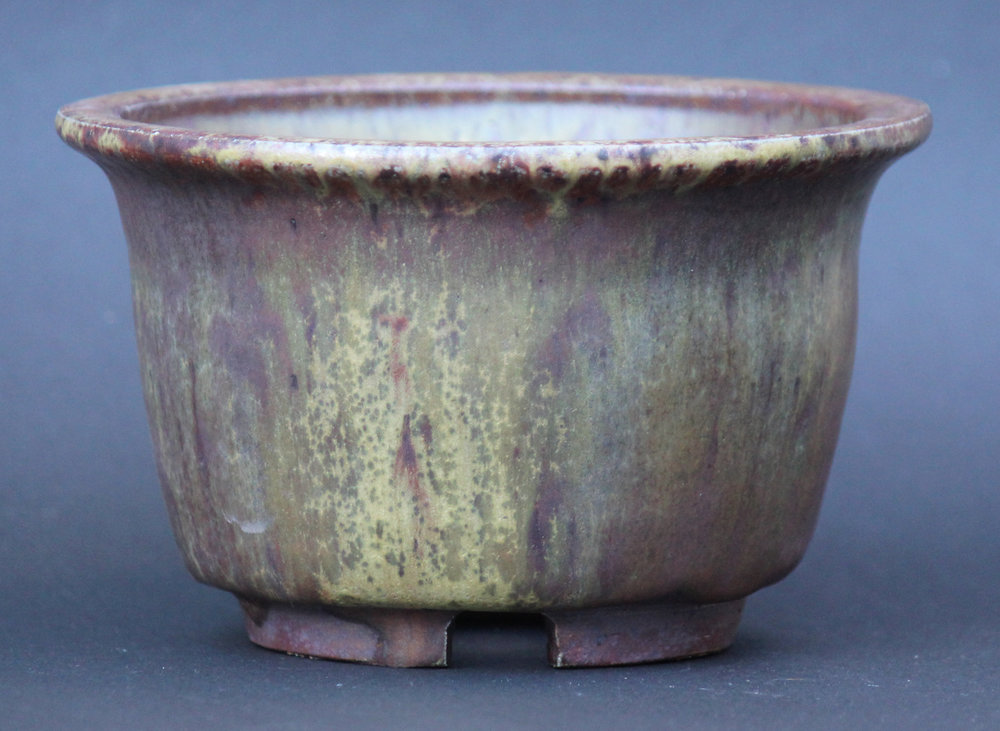 This glaze turned purple only this once and never agian.