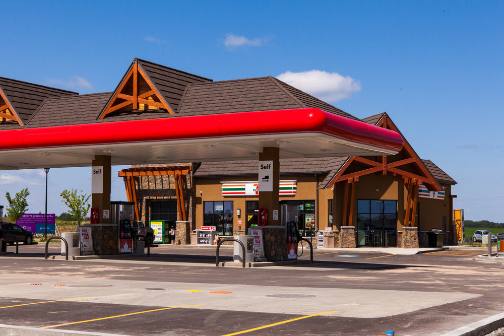 Genesis Plaza  Located at 110 Genesis Drive, Stony Plain, AB.  This project was 4 CRU building including a touchless car wash.
