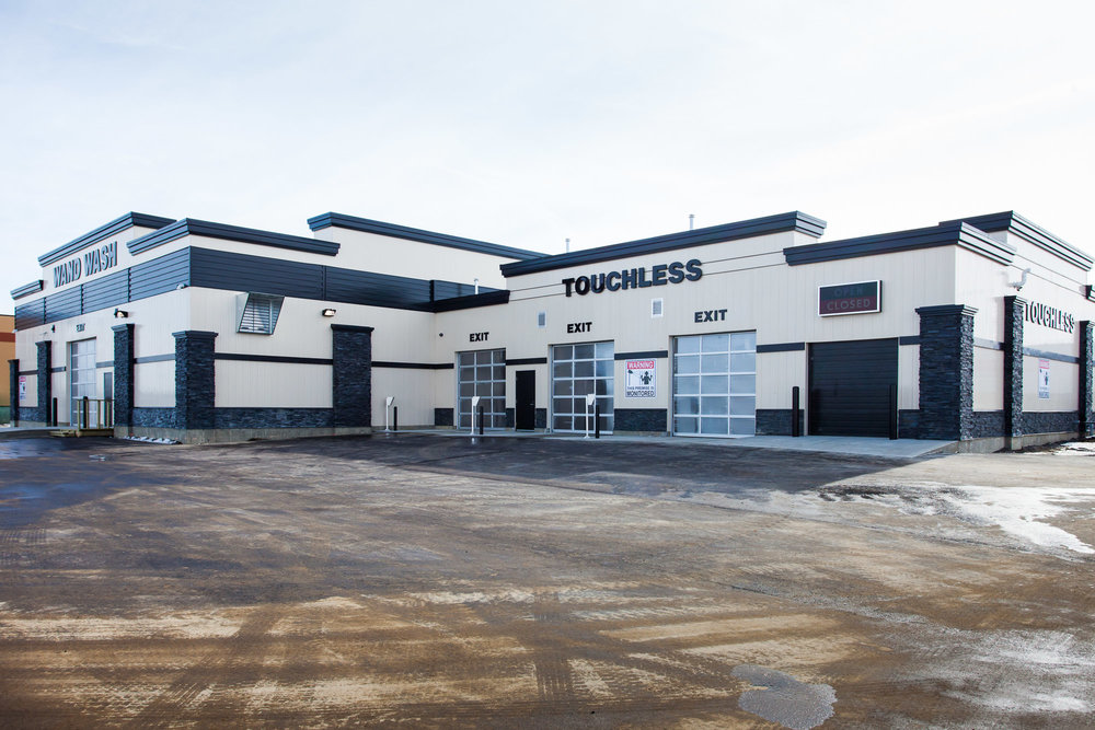 Clean Getaway Car Wash  Located on 5 McLeod Ave, Spruce Grove AB.  A 16 bay car wash and 3 touchless wash bays.