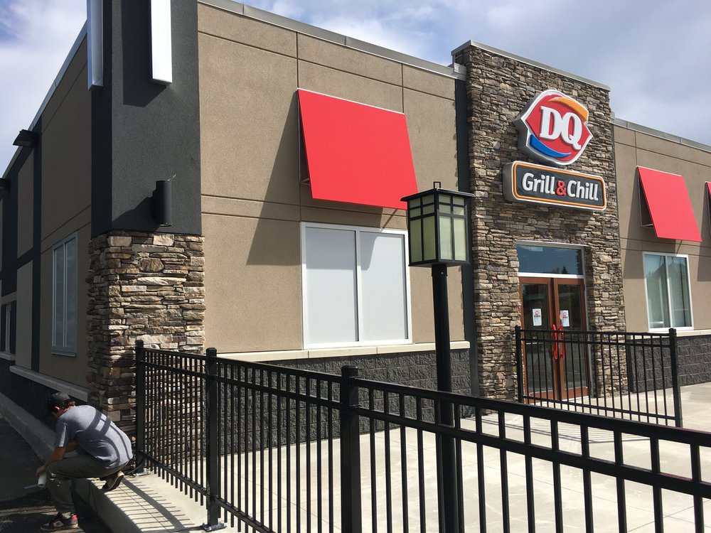 Dairy Queen - Spruce Grove  Located at #8 McLeod Ave, Spruce Grove AB.  A Tenant Improvement to an existing building.