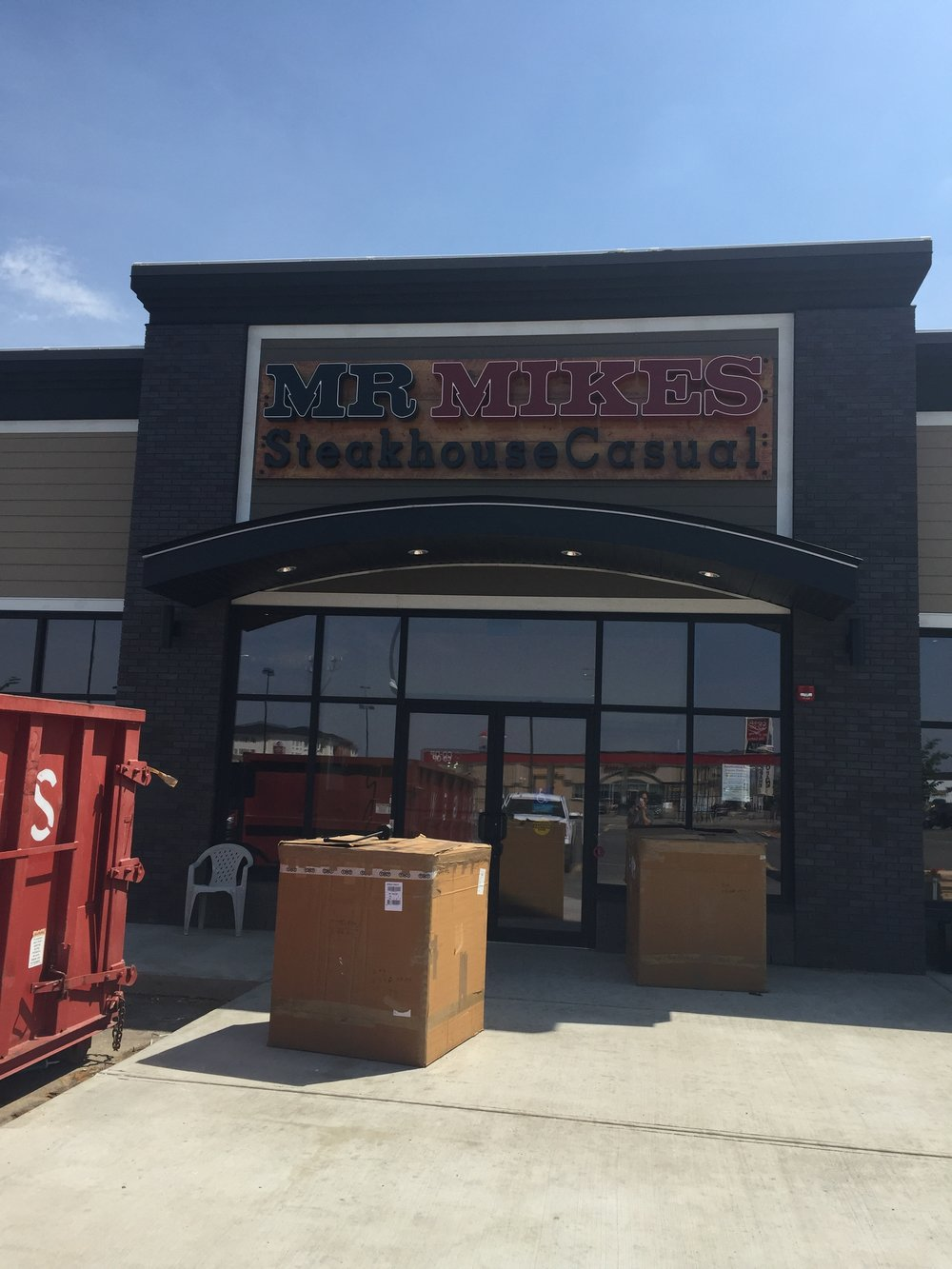 Mr Mikes - Estevan  Located at 415 Kensington Ave, Estevan SK.  A renovation to an existing space located.