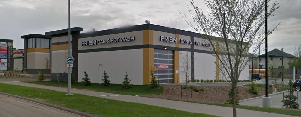 Prism Car & Pet Wash  Located at 6995 Ellerslie Rd SW, Edmonton AB.  A 8 bay car wash.
