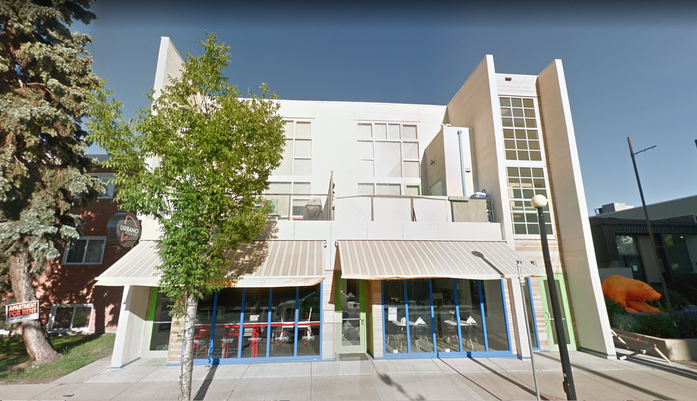 124 Street Aparments  Located at 124 St, Edmonton AB.  A mixed us building with 2 CRU's on the main floor. 2nd and 3rd floors are condo units.