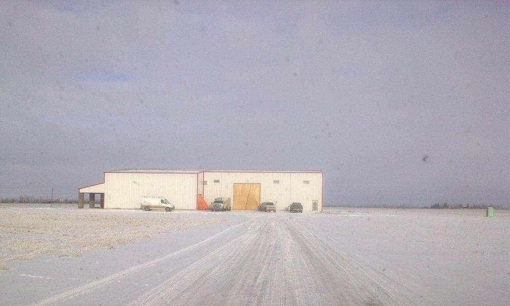 Agriterra Equipment  Located at 5045 50 St, Waskatenau AB.  A building that sells farm equipment.