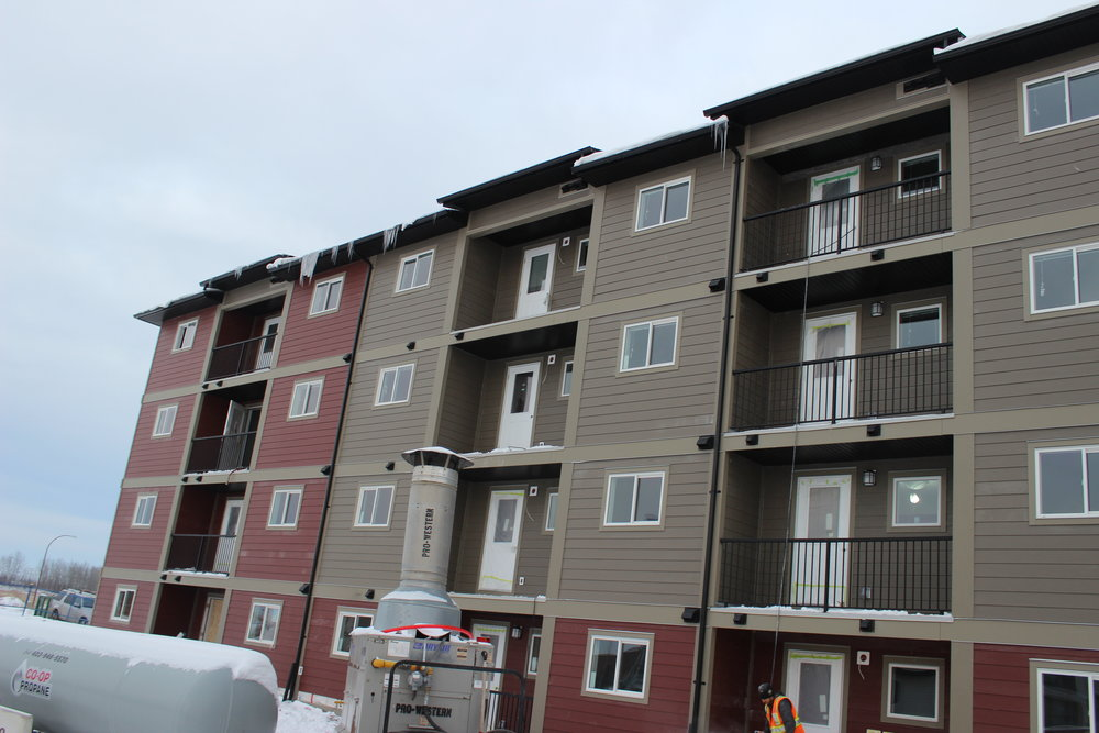 47 Units Cold Lake  Located at 6600 48 Street, Cold Lake AB.  This Project was 48 Condo Units.