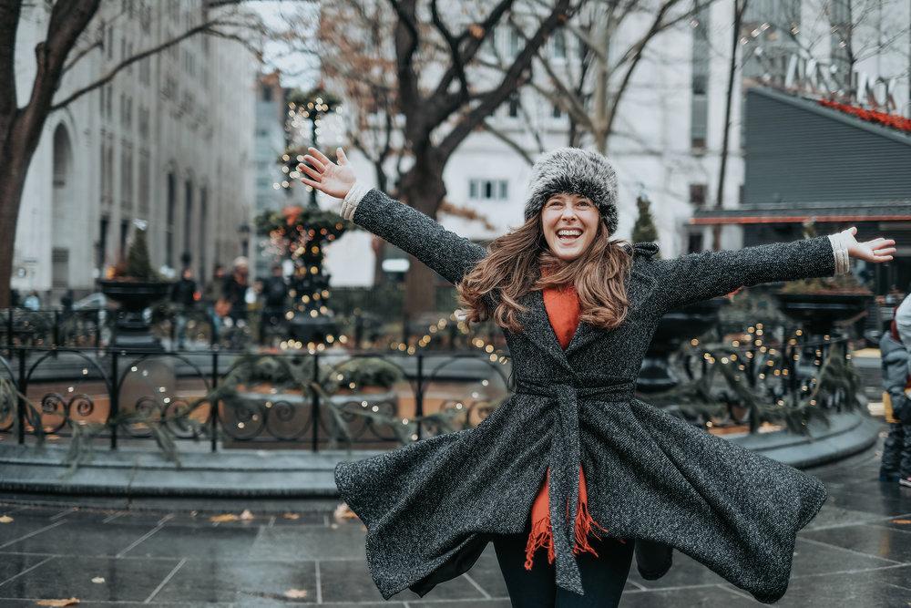 New York Christmas Shoot