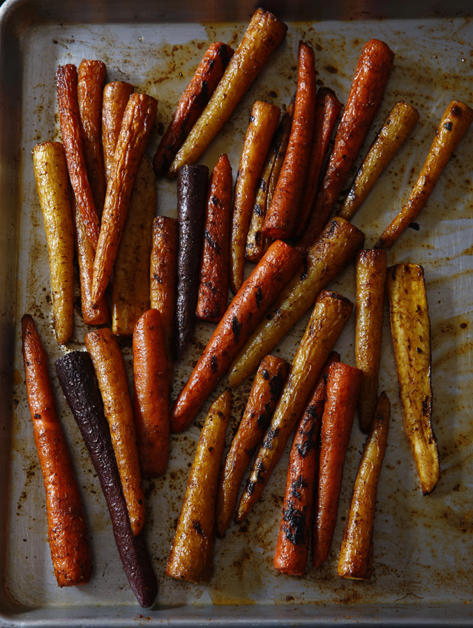 Vedge- Carrots & Lentils Roasted Carrots_7366