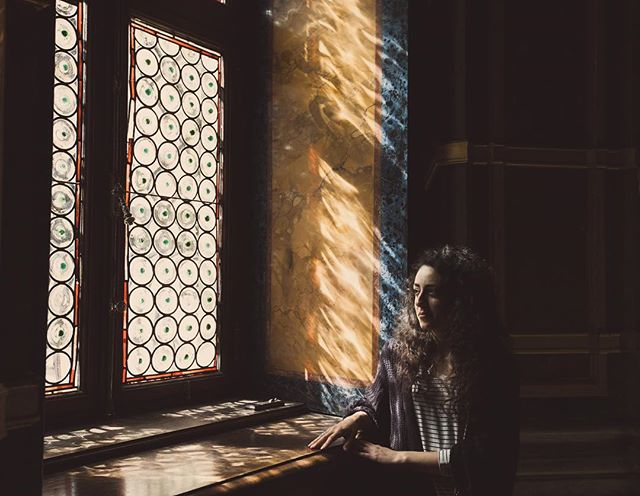Find the Light - - - - - #romania #photography #canon5d #photooftheday #socality #socalitytexas #stainedglass #wood #portrait #travel #socalityphotography #castle #romania #faded #vsco #peles