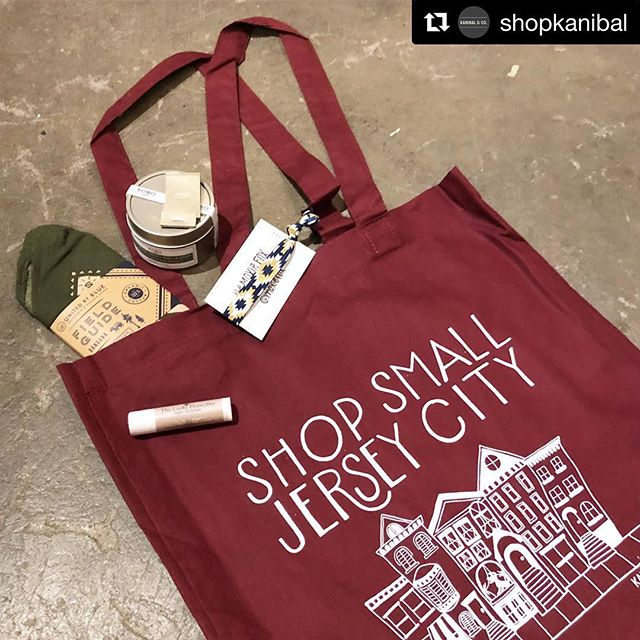 It's small biz Saturday and got a bunch of holiday shopping done today in the neighborhood. Especially did some damage at @shopkanibal ☑️ Christmas gifts ☑️ Stocking stuffers ☑️ Christmas tree ☑️ Snacks to power through  Support your local shops today. They make the neighborhood great. • • •  #Repost @shopkanibal with @get_repost ・・・ We're open!! Stop by to #ShopSmall today- a limited number of our first customers to make a purchase will receive this year's Jersey City Shop Small tote bag full of goodies! Come out to get yours and support your local businesses!! #shopsmall #shoplocal #SBS #JerseyCity #shopkanibal