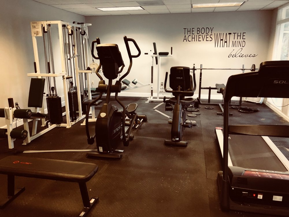Members also have access to our fitness room 24/7! CCC just recently upgraded the equipment.