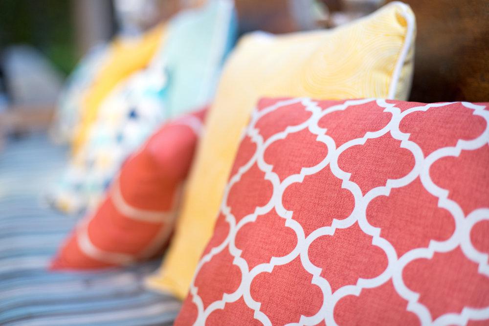 Throw Pillows for Summer
