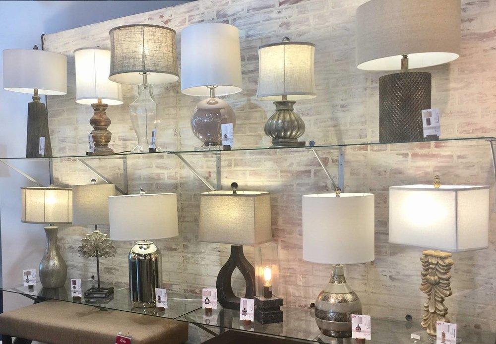 Lamps at Rubies
