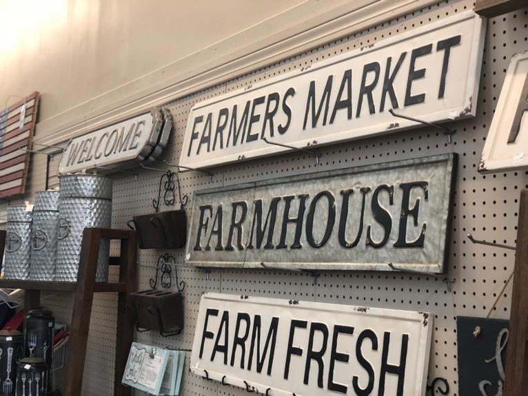 Farmhouse Decor at Rubies Home Furnishings in Laurel