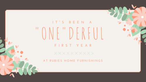 First Birthday at Rubies Home Furnishings