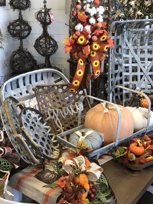 Fall Decorative Items at Rubies Home Furnishings