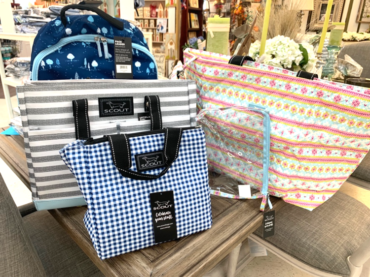 New arrivals of Scout Bags available at Rubies Home Furnishings.