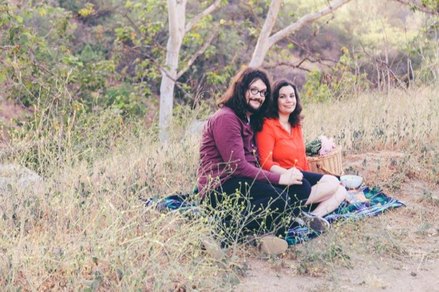 Griffith Park Engagement 9
