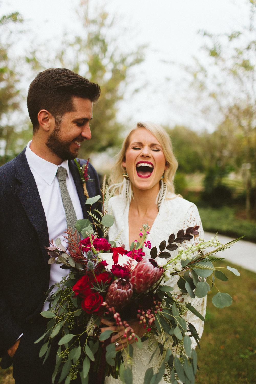 Intimate Backyard Boho Wedding