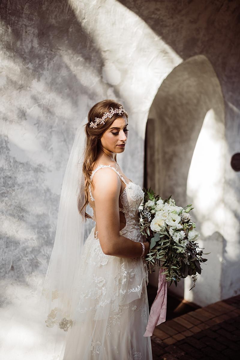 Dreamy Blush + White Wedding at Casa Feliz