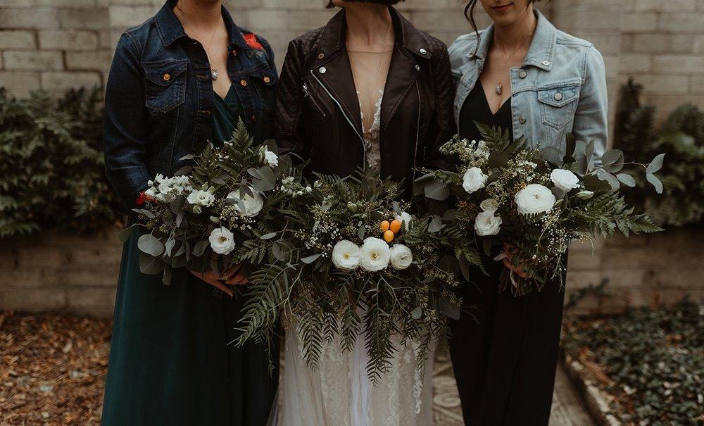 Moody Wedding with Ferns + Kumquats at AH Maitland
