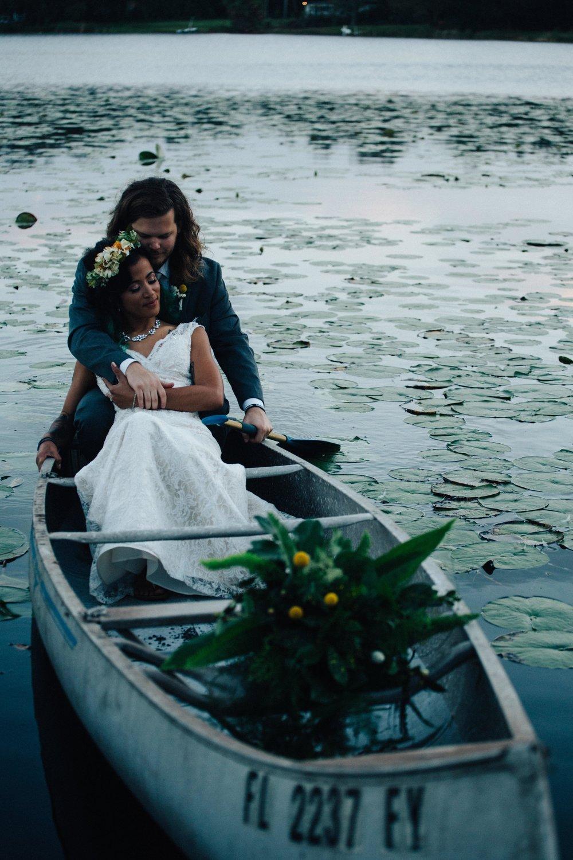 American Grown Greenery Filled Backyard Wedding