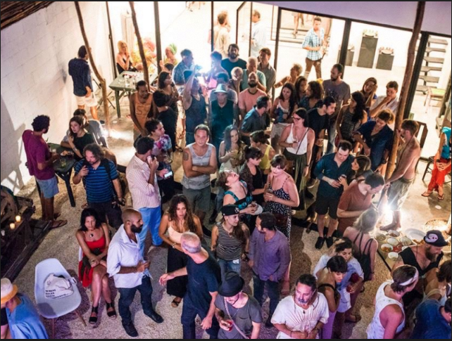 WHO WE ARE - Tulum Art Club is a vital force in the art scene of theYucatan region, blending contemporary art pieceswithin the cultural context of Mexico. It was startedwith Residencia Gorila, an artist residency and guesthouse located in Boca Paila, Tulum.TAC is a dynamic exhibition space, featuringemerging Mexican and International artists, while alsoboasting a cafe, event space, and multimedia studio.The art club launched in January 2016 as the firstcontemporary art and culture space in the RivieraMaya to bridge the local communities withcontemporary and social art projects, and givevisiting artists a chance to interact WITH LOCAL COMMUNITIES.