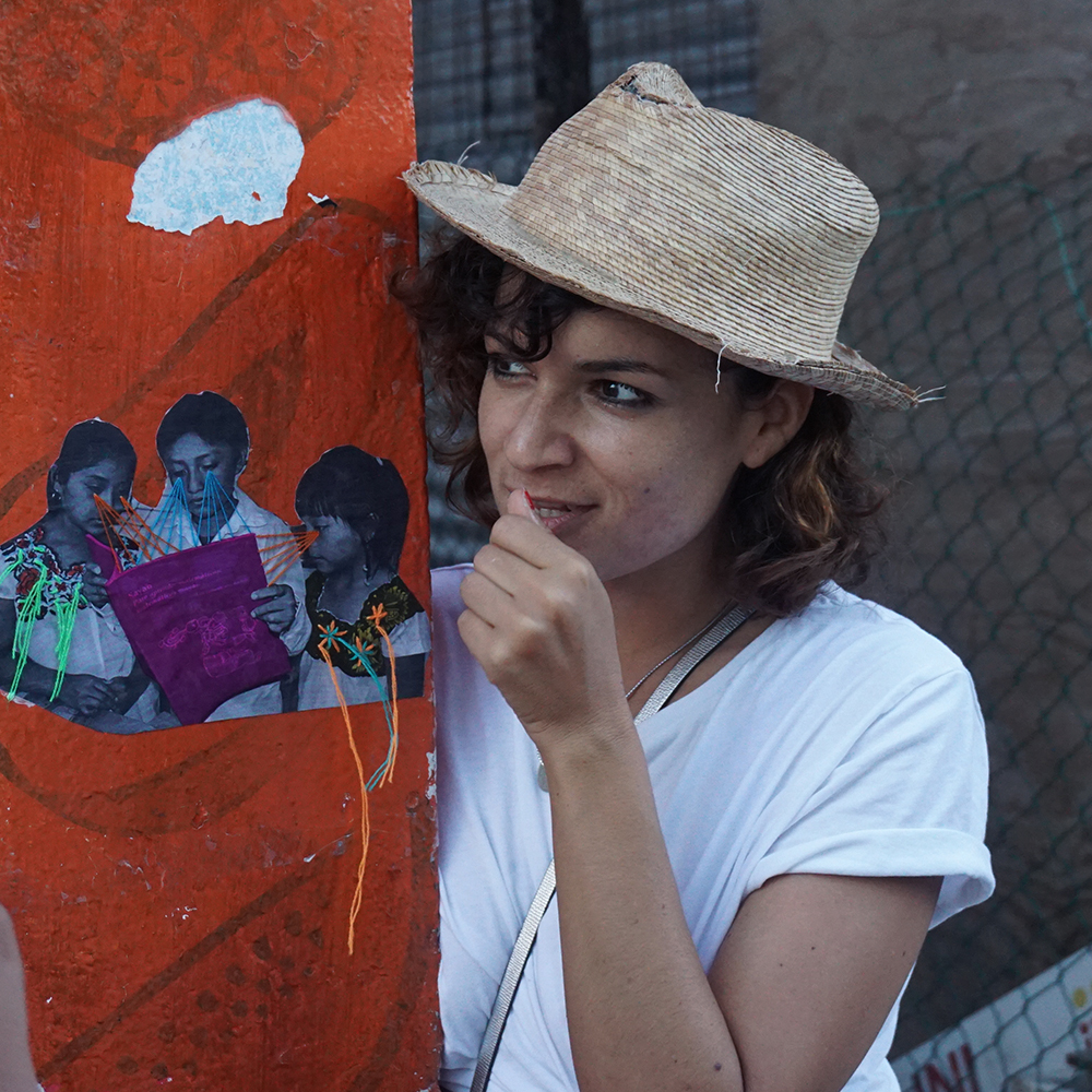 VICTORIA VILLASANA (MEXICO)     KNOW MORE ABOUT HER AND WHAT SHE DID FOR THE FESTIVAL