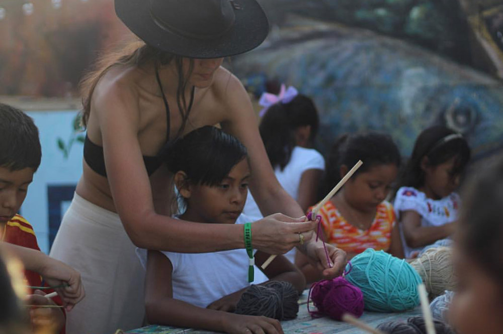 DIANA GARCIA (MEXICO)     KNOW MORE ABOUT HER AND WHAT SHE DID FOR THE FESTIVAL