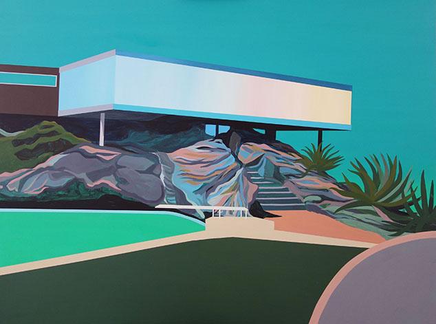 """Casa Artigas""   Javiera Da Fonseca  120 x 100 cm"