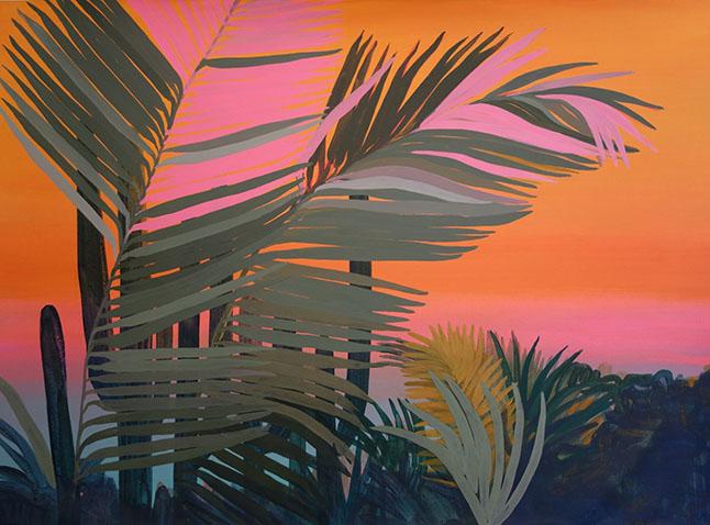 """Zipolite""   Javiera Da Fonseca  67 x 47 cm"