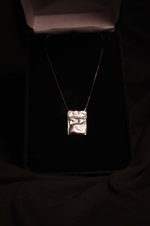 Silver Drug Bag Jewelry