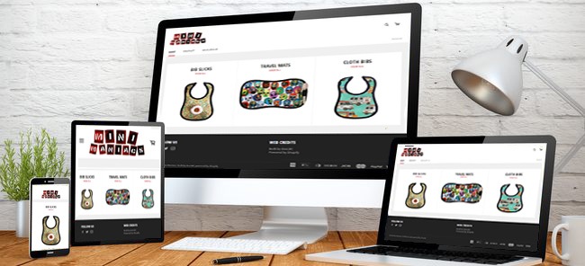 responsive site design adjusts to different devices