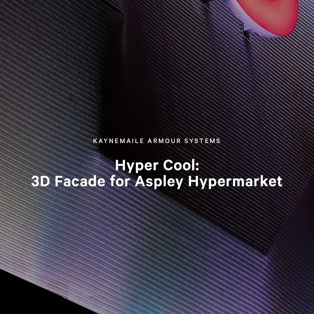 Hyper Cool: 3D Facade for Aspley Hypermarket, Queensland, Australia