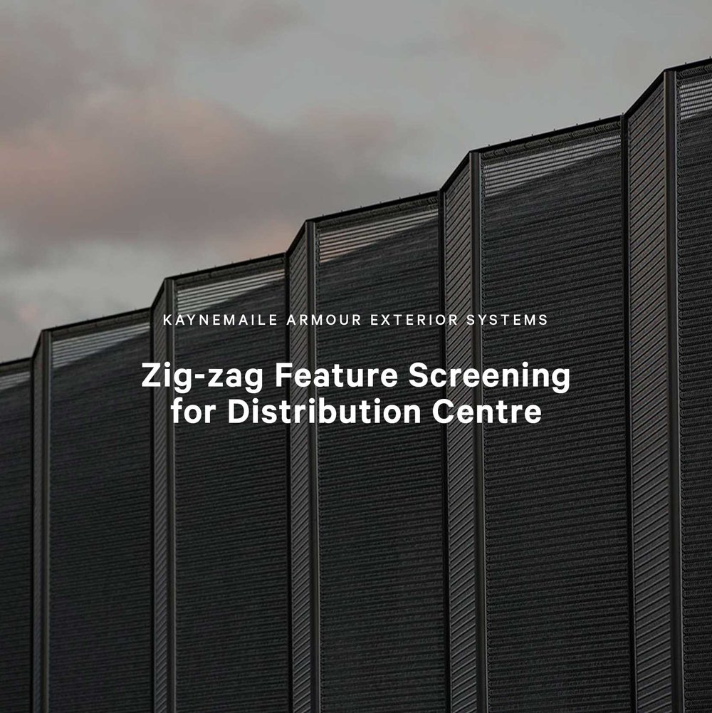 Zig-zag Feature Screening for Distribution Centre, Wellington, New Zealand