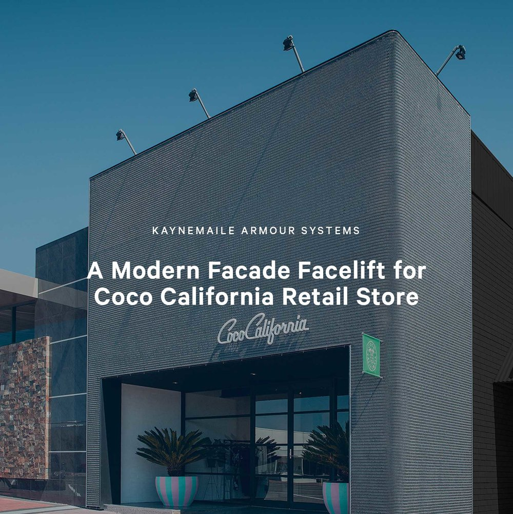 A Modern Facade Facelift for Coco California Retail Store, Port Lincoln, Australia