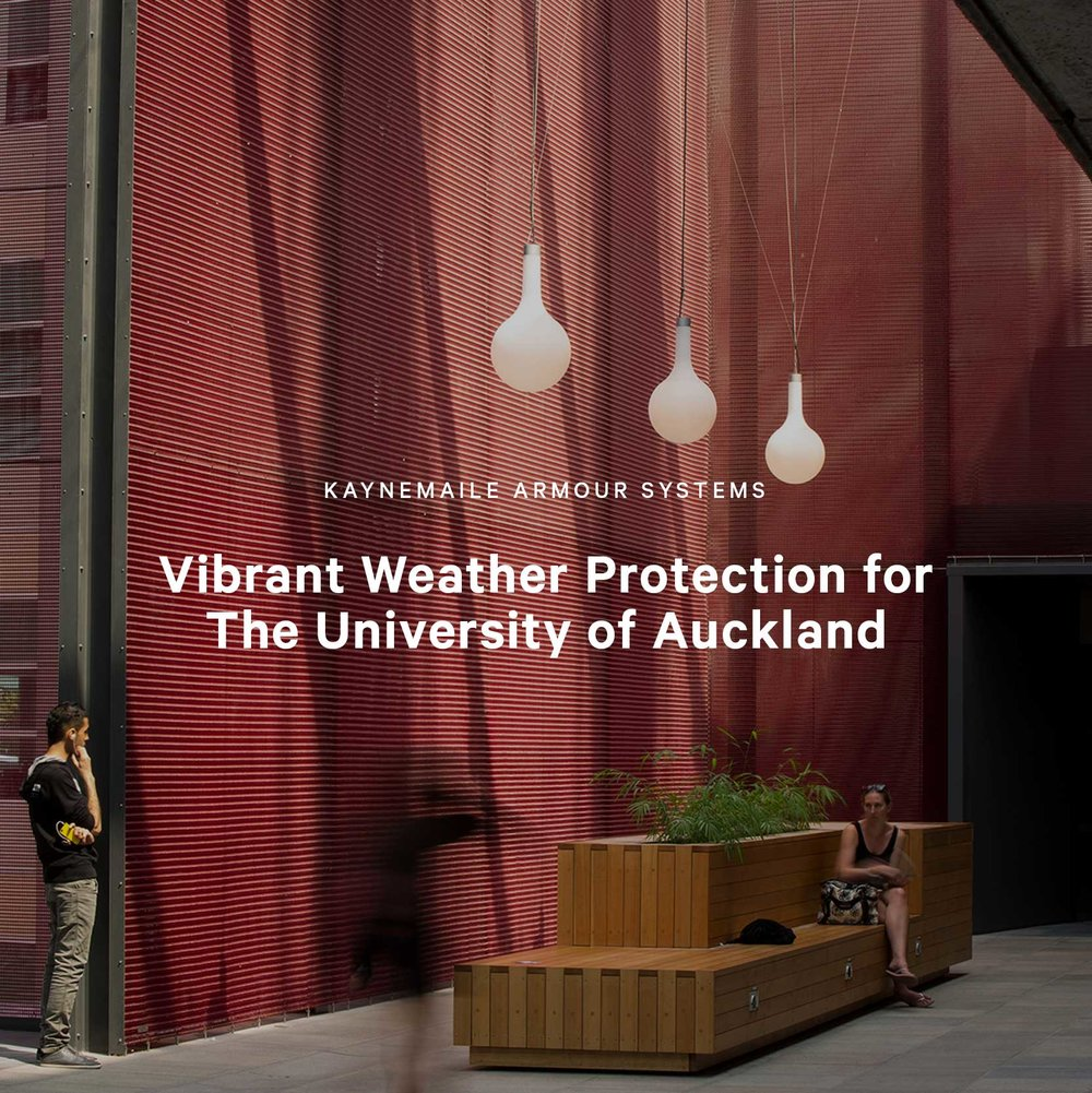 Making Spaces Vibrant: Atrium for The University of Auckland, New Zealand