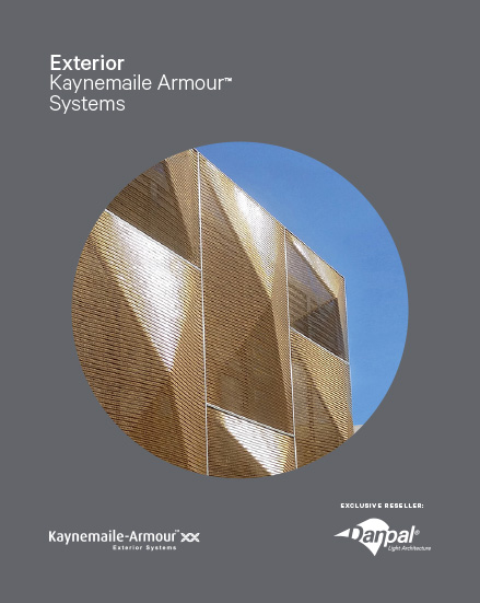 Kaynemaile-Armour Exterior Systems Brochure2018 Version
