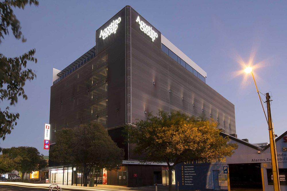 Agostino Group Carpark Facade, Adelaide Australia