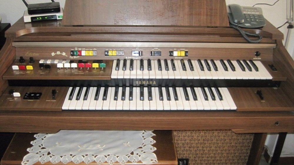 The Yamaha Electone B-45 - the home version.